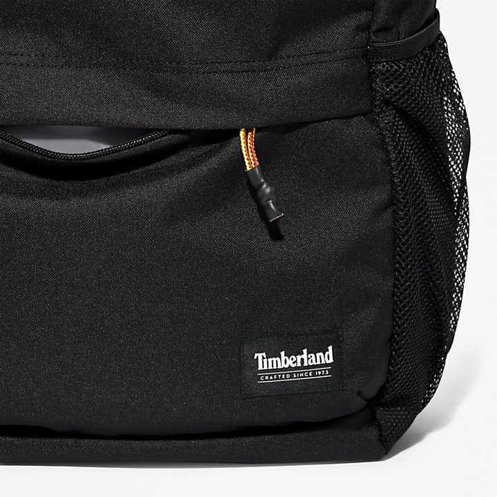 Crofton Zip-top Backpack in Black-