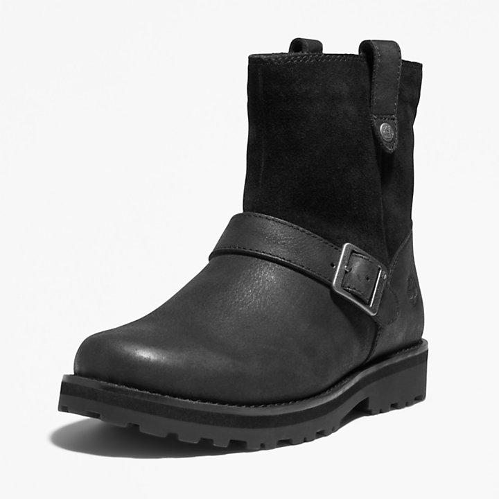 Courma Kid Side-zip Winter Boot for Junior in Black-