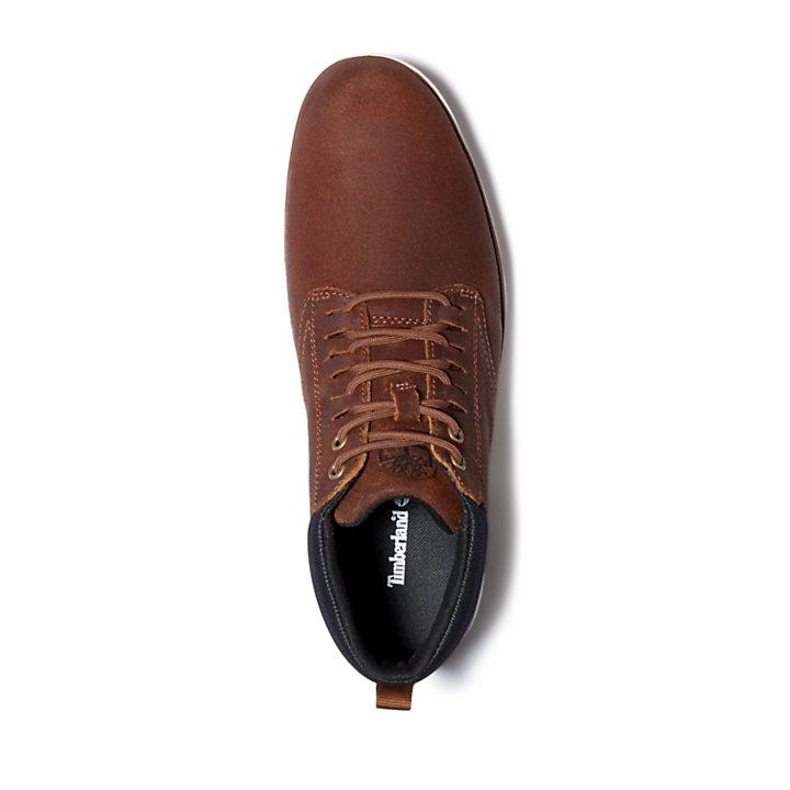 Bradstreet Ghillie Chukka Boot for Men in Light Brown-