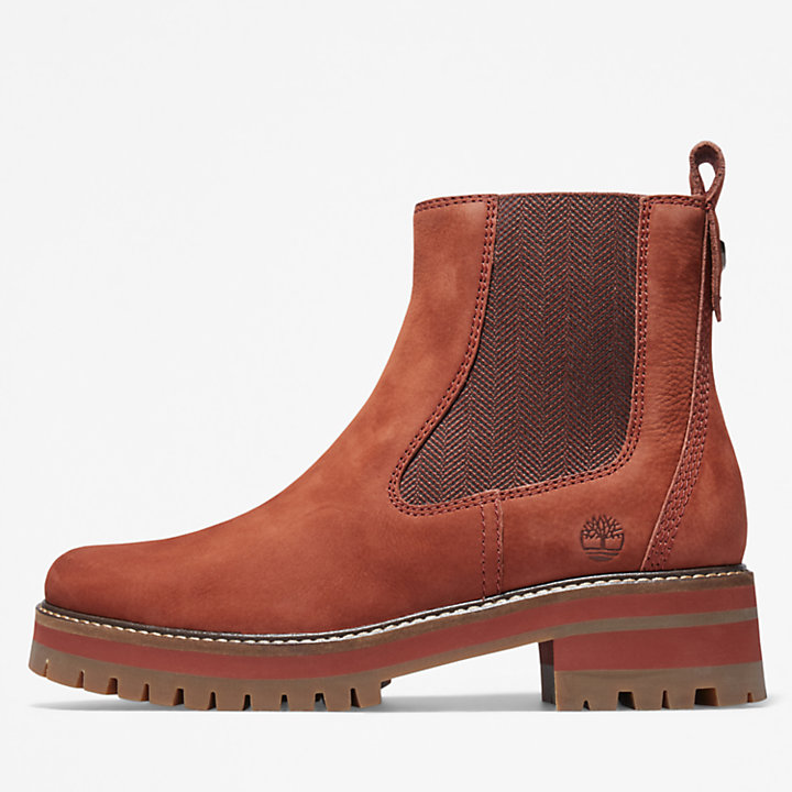 Courmayeur Chelsea Boot for Women in Brown-