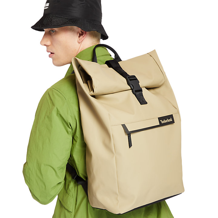 Canfield Roll-Top Rucksack in Kaki-