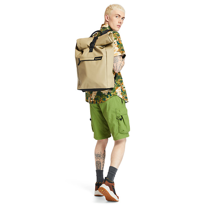 Canfield Roll-top Backpack in Khaki-