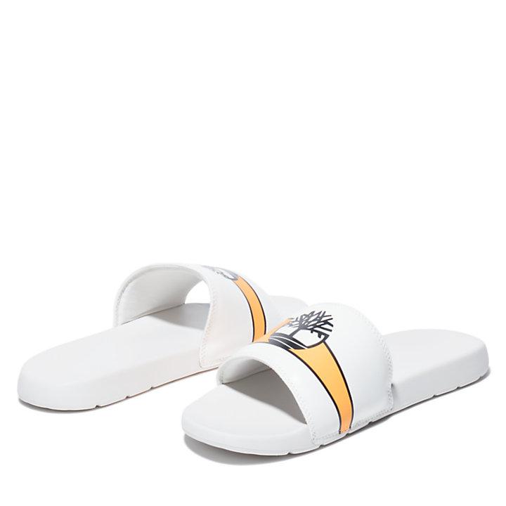 Chanclas Playa Sands para Hombre en blanco/naranja-