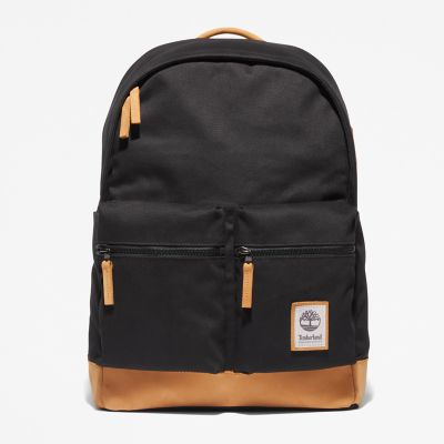 Needham+Zip-top+Backpack+in+Black