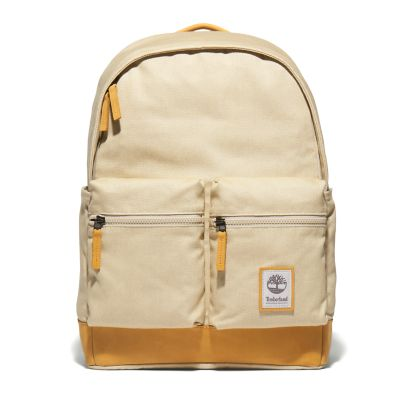 Needham+Zip-top+Backpack+in+Beige