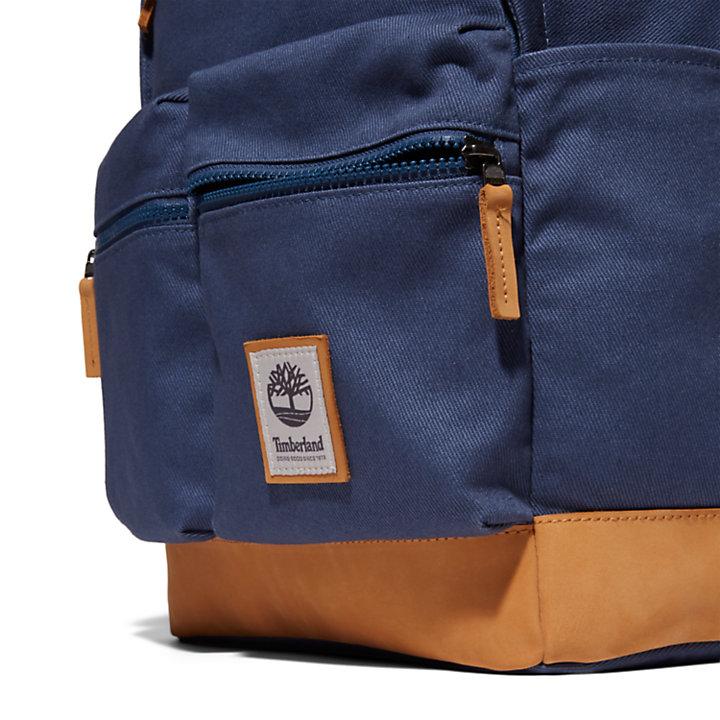 Needham Rucksack mit Reißverschluss oben in Blau-