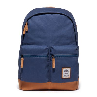 Needham+Zip-top+Backpack+in+Blue
