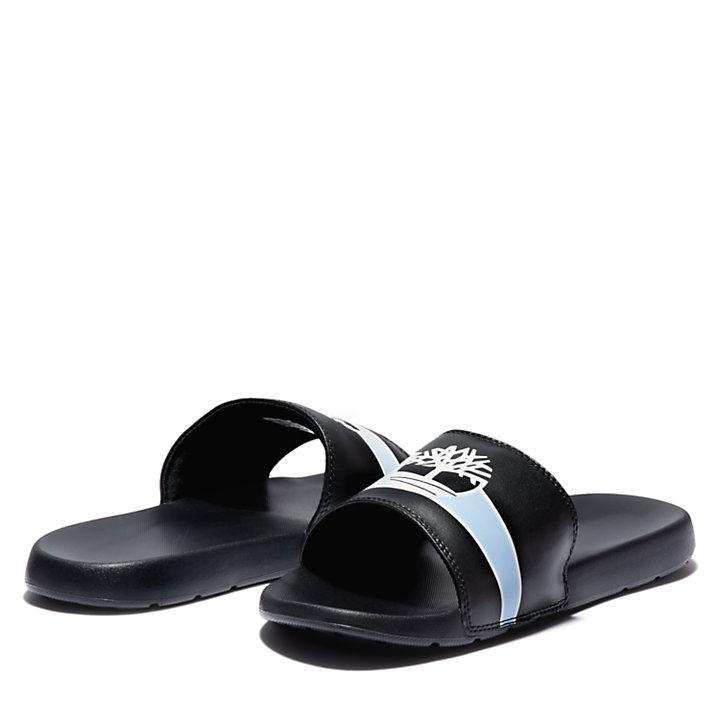 Chanclas Playa Sands para Hombre en color negro/azul-