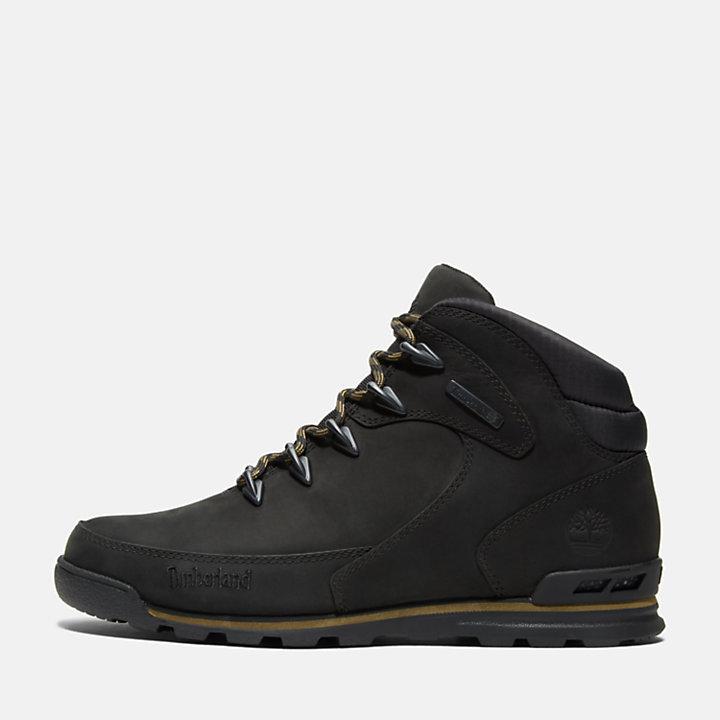 Scarpa da Hiking da Uomo Euro Rock Mid in colore nero-