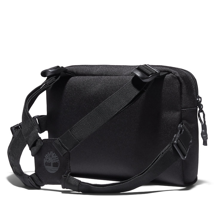 Timberland® Logo Chest Bag in Black-
