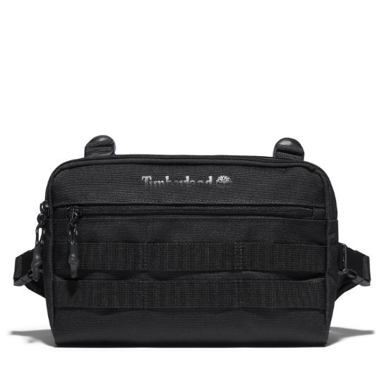 Timberland® Logo Chest Bag in Black | Timberland