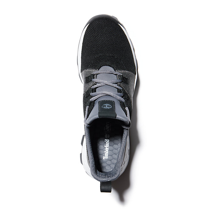 Sneaker da Uomo Brooklyn Flexi Knit in colore nero-