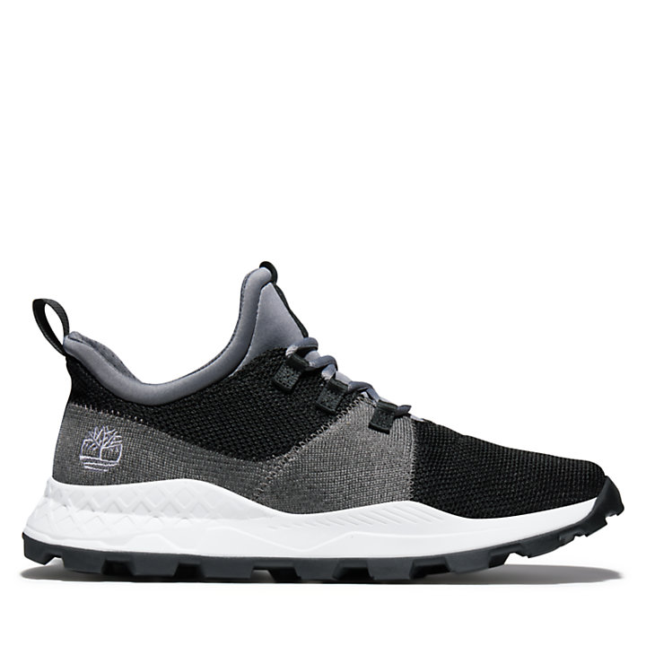 Brooklyn Flexi Knit Sneaker for Men in Black-