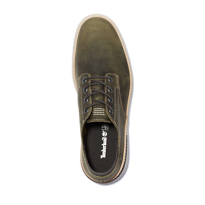 Cross Mark Oxford for Men in Green-