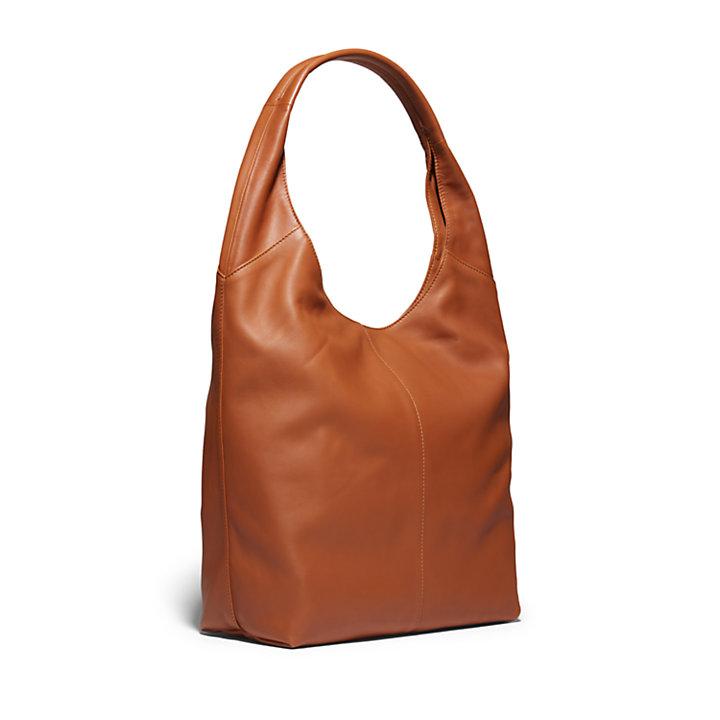 Sac besace Echo Bay pour femme en marron clair-