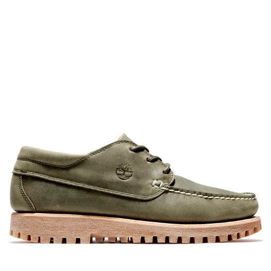 Jackson's Landing Moc Toe Oxford for Men in Green | Timberland