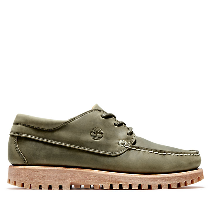 Jackson's Landing Moc Toe Oxford for Men in Green-
