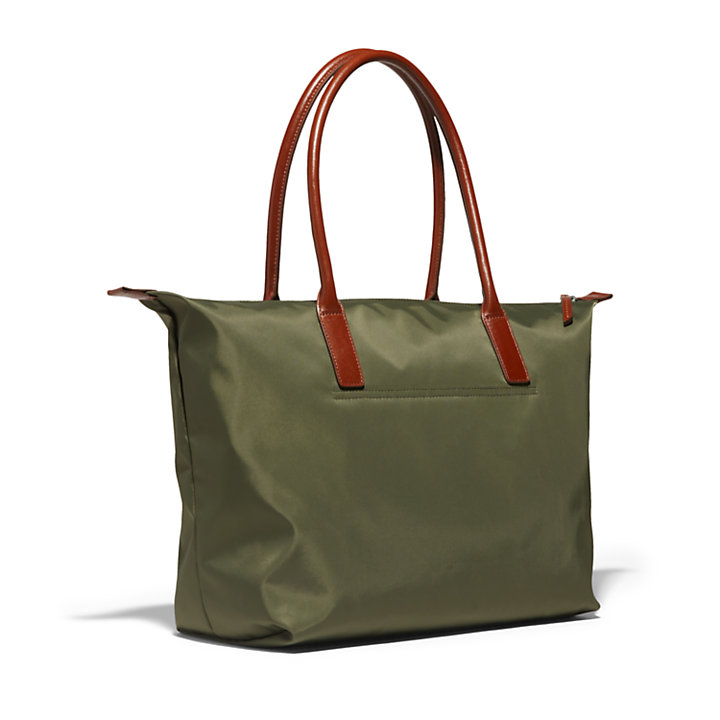 Alderbrook Tote Bag for Women in Dark Green-