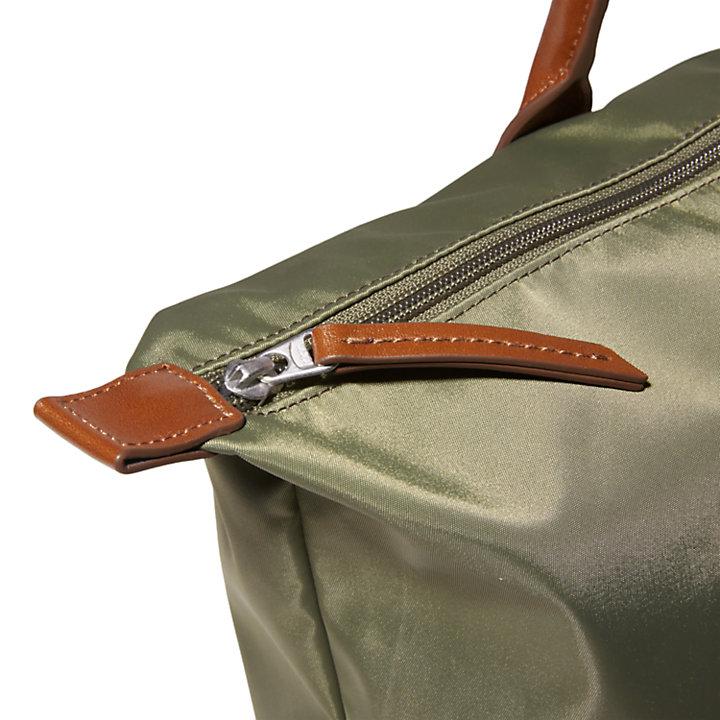 Alderbrook Tote Bag for Women in Dark Green-