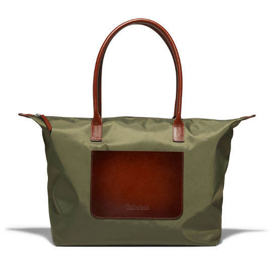 Alderbrook Tote Bag for Women in Dark Green | Timberland