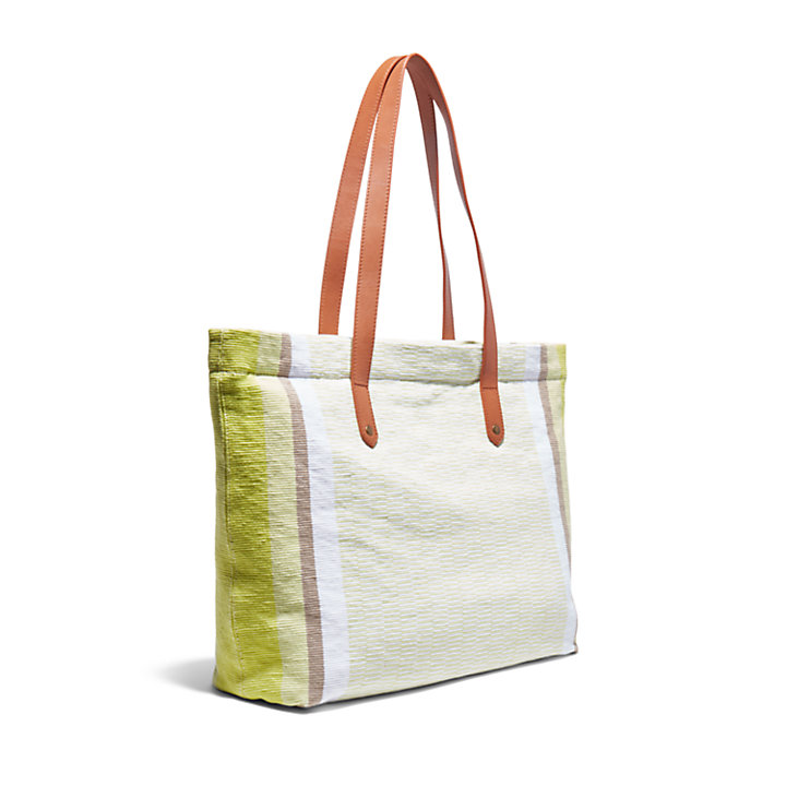 North Twin Tote Bag for Women in Green-