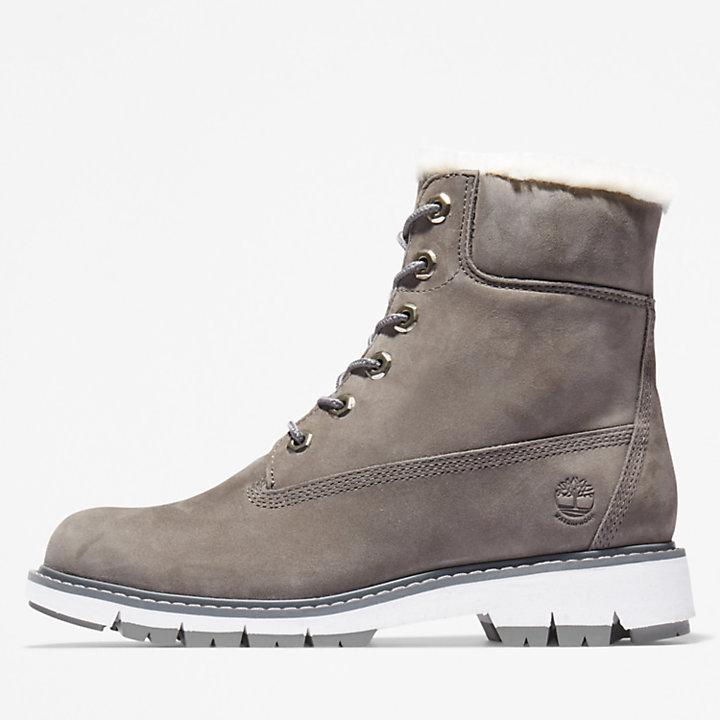 Lucia Way Lined Boot voor dames in grijs-