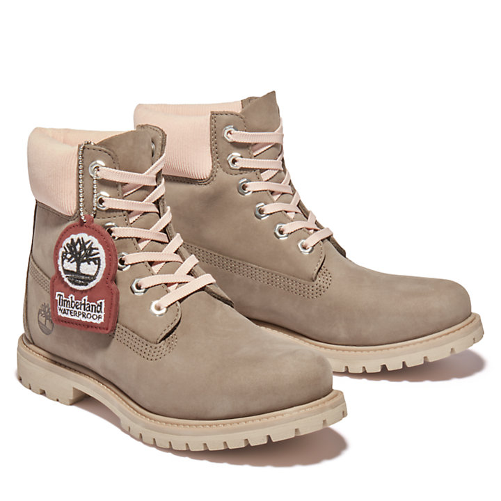 6-inch Boot Premium pour femme en gris-