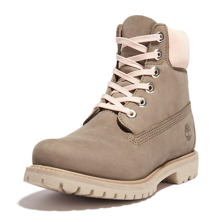 Premium 6-Inch-Stiefel für Damen in Grau-