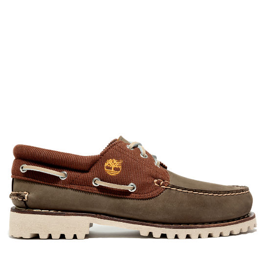 Authentics Boat Shoe for Men in Greige | Timberland