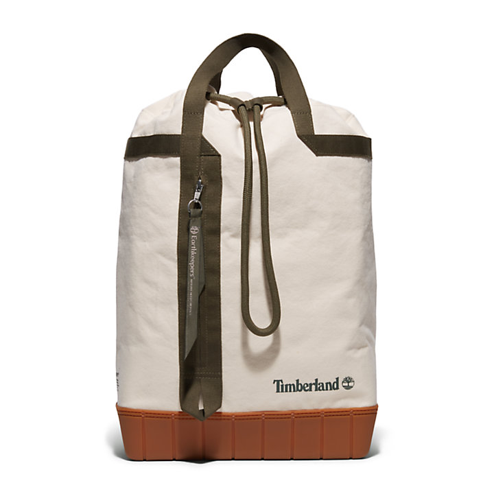 Caswell EK+ Duffel Backpack in Beige-