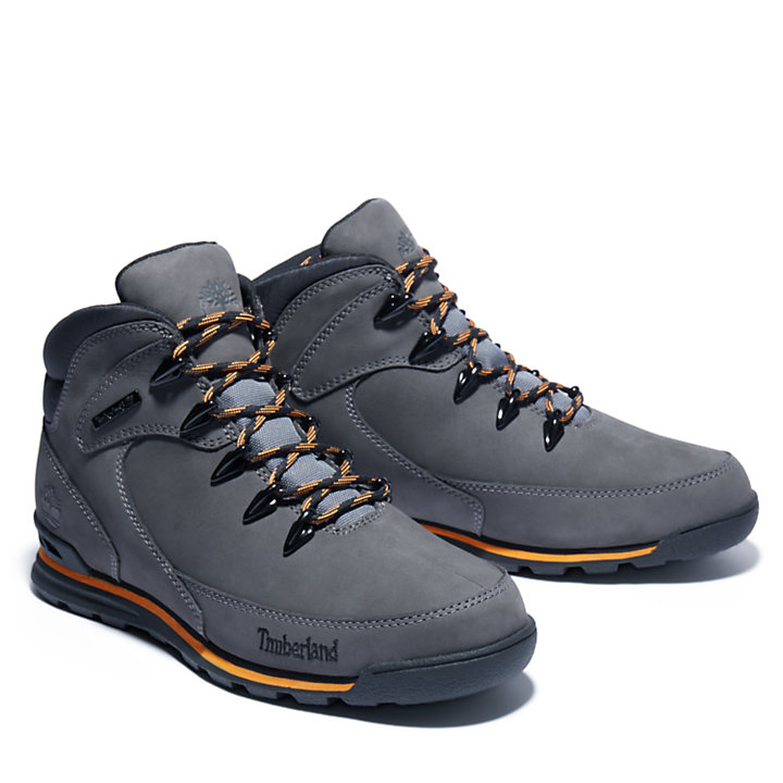 Euro Rock Mid Hiker for Men in Grey-
