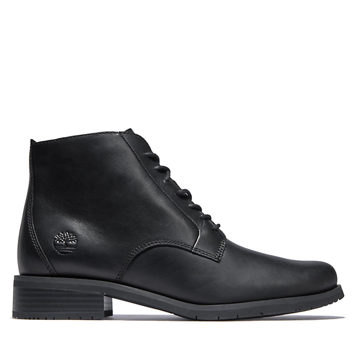 Mont Chevalier Lace-Up Boot for Women in Black-