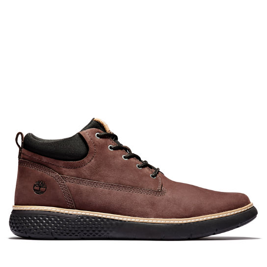 Cross Mark Plain-toe Chukka for Men in Dark Brown | Timberland