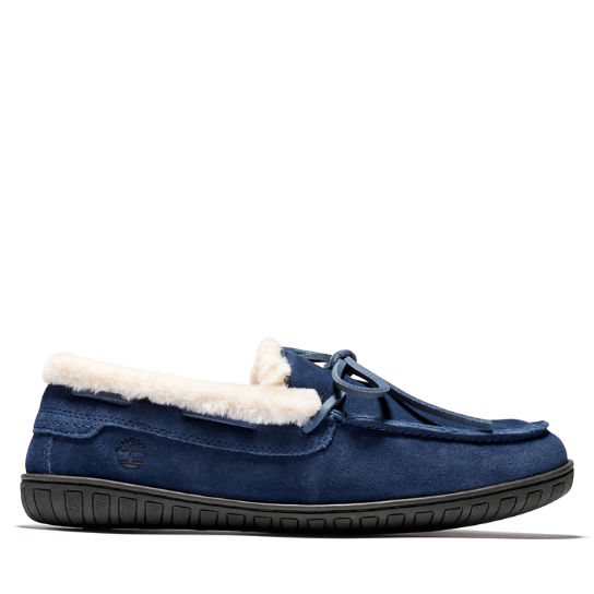 Torrez Warm Lined Slipper for Men in Navy | Timberland