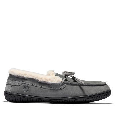 Torrez+Warm+Lined+Slipper+for+Men+in+Grey