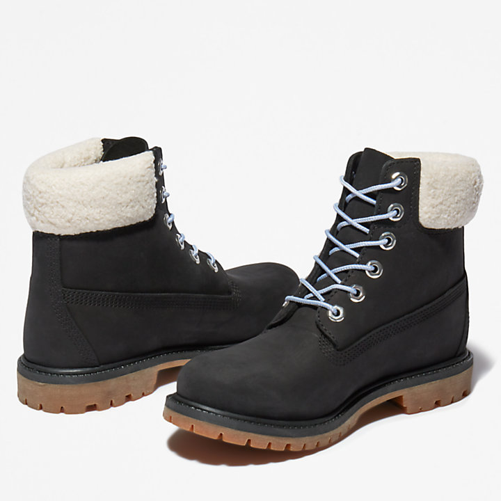 Timberland® Premium 6 Inch Winter Boot for Women in Black-