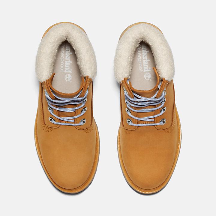 6-inch Boot d'hiver Timberland® Premium pour femme en jaune-