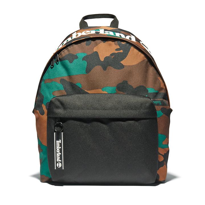 Unisex Bailer Print Backpack in Camo-