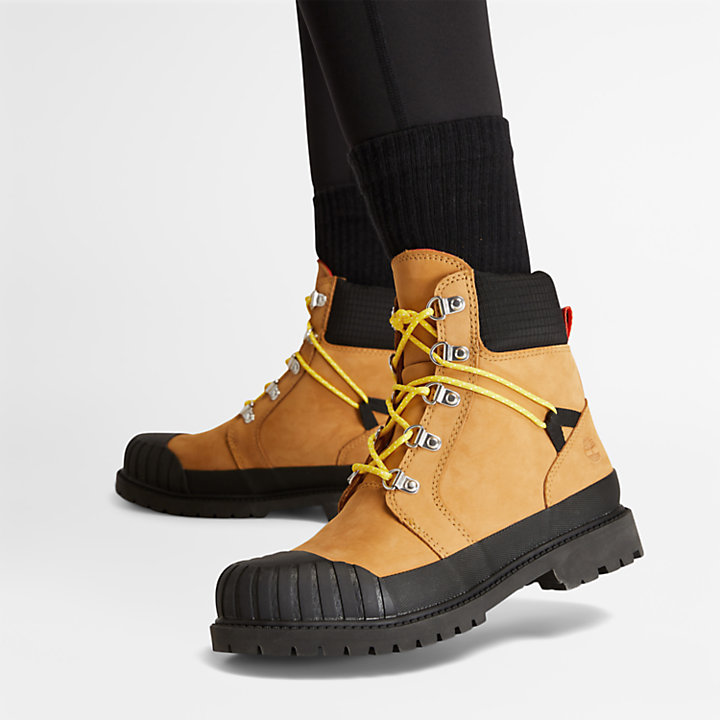 Bota con Puntera de Goma Timberland® Heritage para Mujer en amarillo-