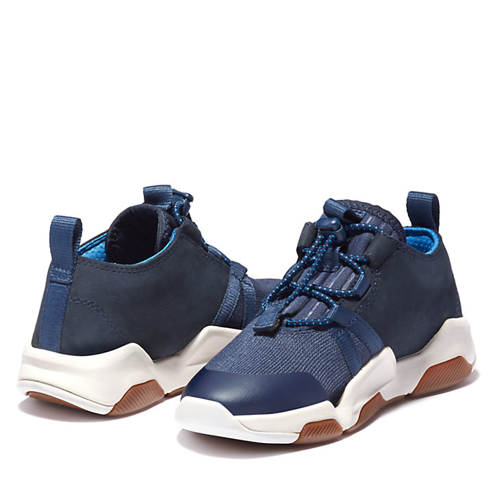 Earth Rally Sneaker for Youth in Navy-