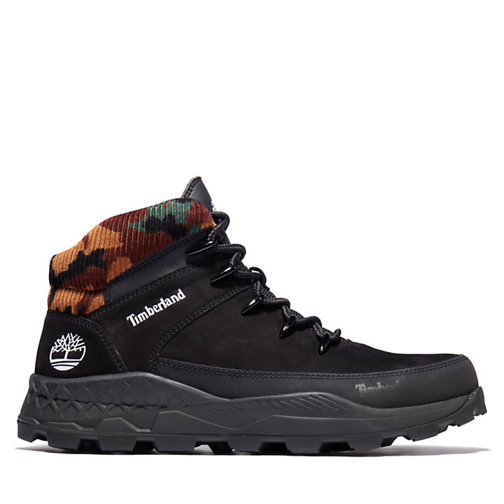 Brooklyn Euro Sprint Boot for Men in Black and Camo-
