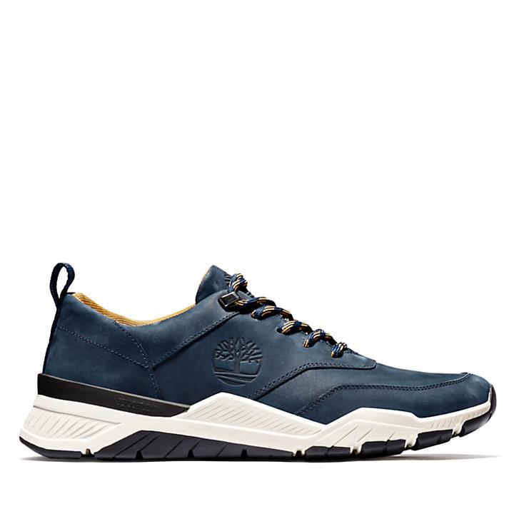 Concrete Trail Sneaker for Men in Navy-