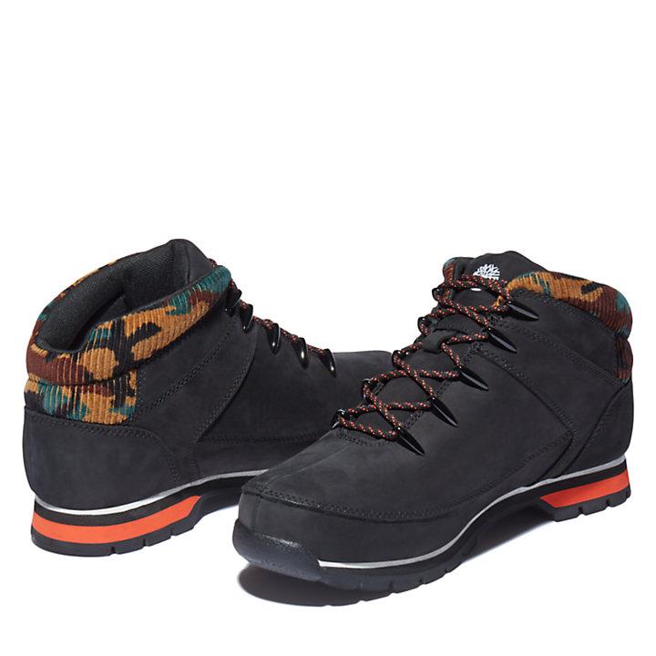 Euro Sprint Hiker for Men in Black/Camo-