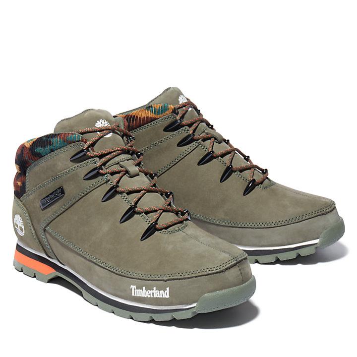 Euro Sprint Hiker voor heren in groen/camouflage-