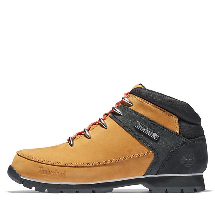 Botas de Montaña con Cordones Naranjas Euro Sprint para Hombre en amarillo/color negro-