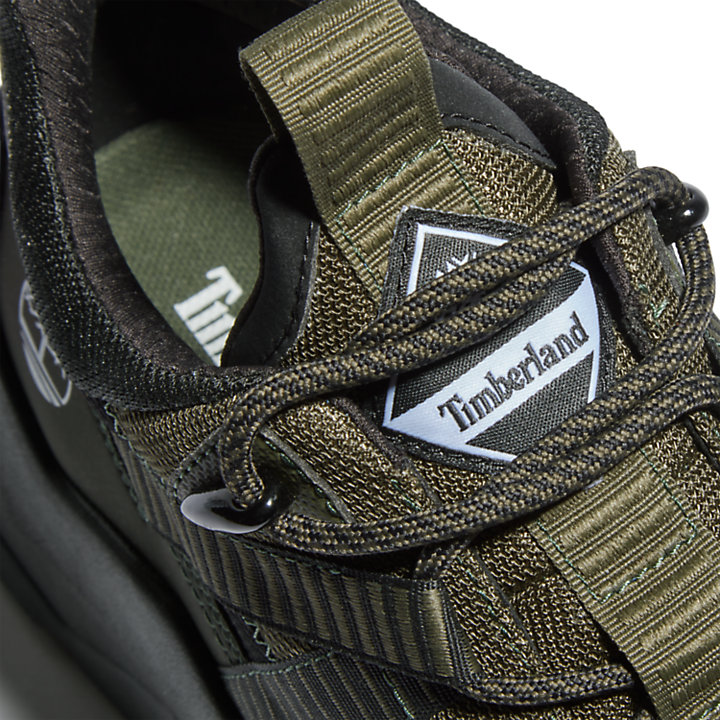 Madbury Fabric Trainer for Men in Dark Green-