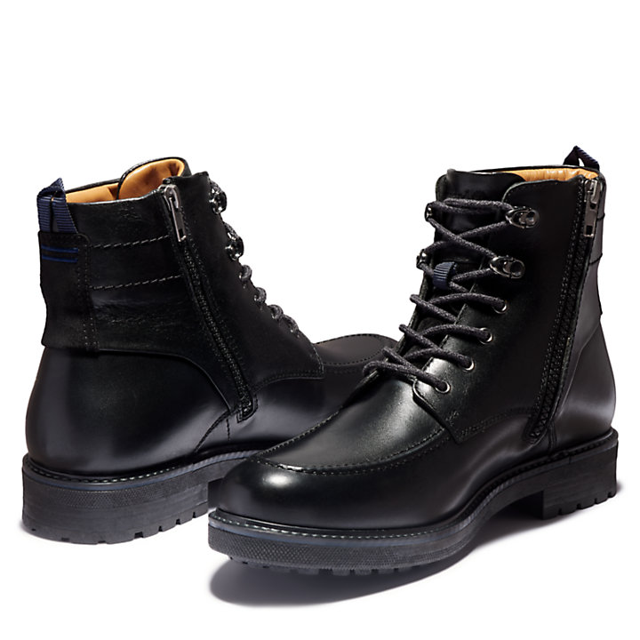 Oakrock Side-zip Boot for Men in Black-