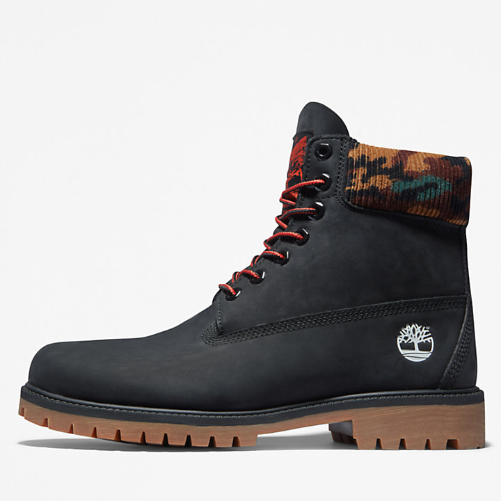 Timberland® Heritage 6 Inch Winter Boot for Men in Black/Camo-