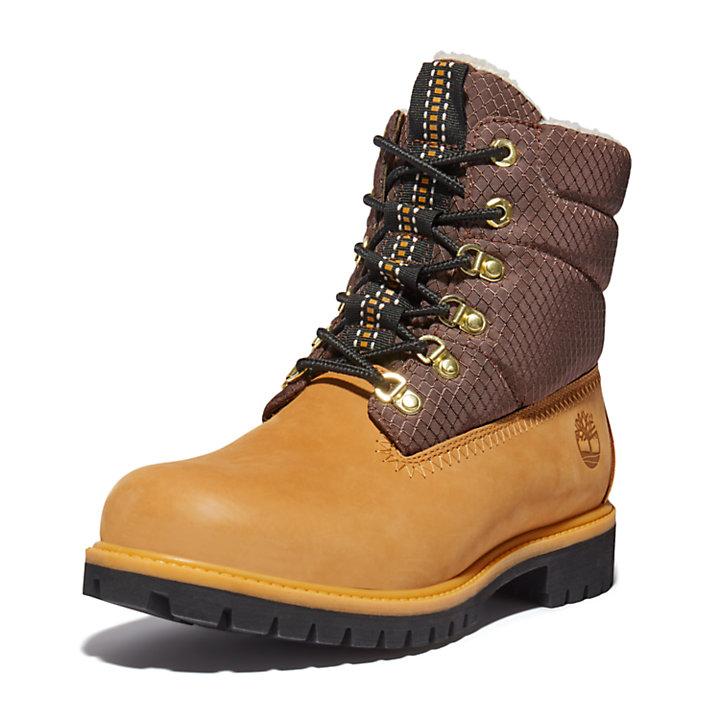 Bota 6 Inch con Forro Cálido Timberland® Heritage para Hombre en amarillo-