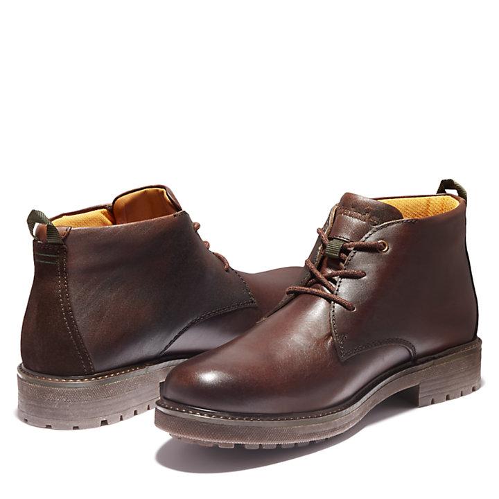 Oakrock Chukka-Stiefel für Herren in Dunkelbraun-